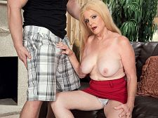 Young pecker and a creampie
