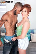 Young, darksome cock for HORNY HOUSEWIFE Ruby O'Connor